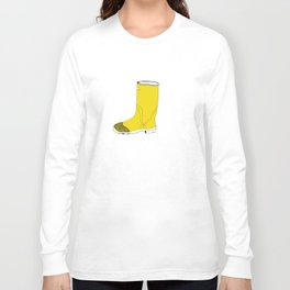 My favorite yellow boot Long Sleeve T-shirt