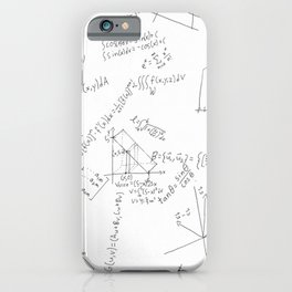 As Calculus Goes to Infinity... iPhone Case
