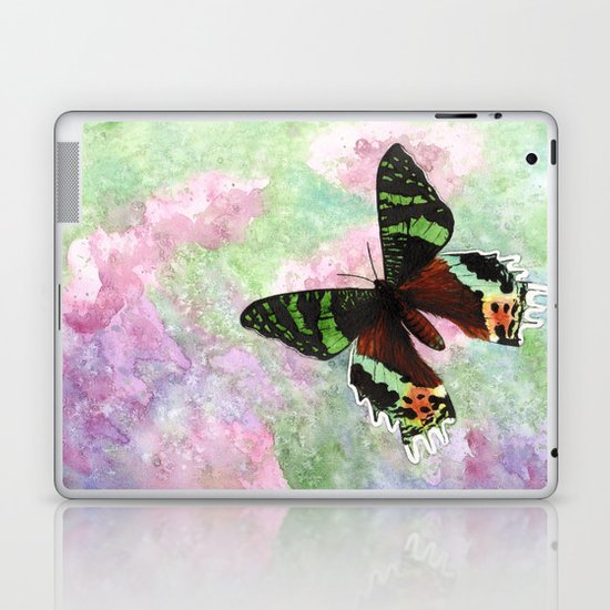 Urania Ripheus Butterfly Laptop & iPad Skin