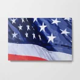 Flag of the United States Metal Print