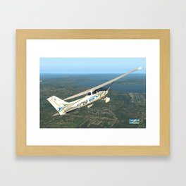 Pilot Proficiency Cessna 172 Framed Art Print