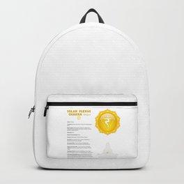 Solar Plexus - Manipura Chart & Illustration Backpack