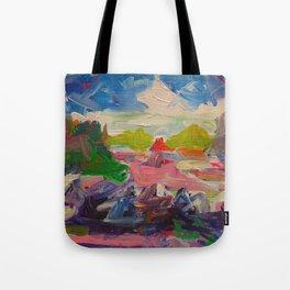 Summer Color Study Tote Bag