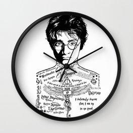 Harry Tattoo Potter Wall Clock