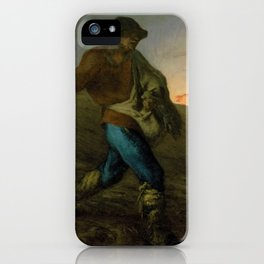 The Sower - Digital Remastered Edition iPhone Case