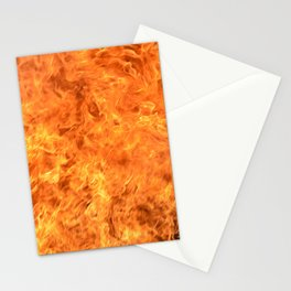 fire wall Stationery Cards