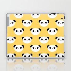 Happy Panda Face Pattern Laptop & iPad Skin