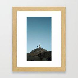 evening in Amer Fort Framed Art Print