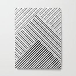 Modern Pattern XVIII Metal Print