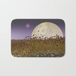 MOONRISE ON A DISTANT WORLD Bath Mat