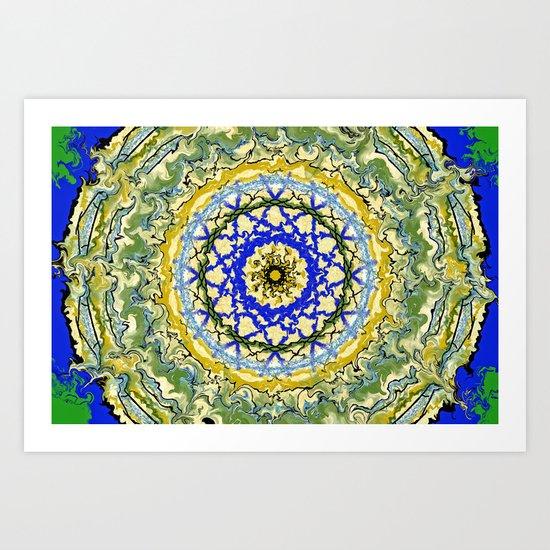 Mandala No.1 Art Print