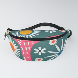 Sunny bird route Fanny Pack
