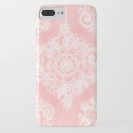 Marshmallow Lace iPhone Case