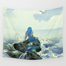 Beauty Mermaid Wall Tapestry