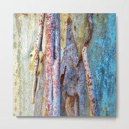 Tree Bark Abstract # 11 Metal Print
