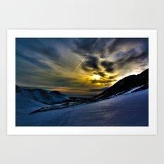 Glen Alps  Art Print
