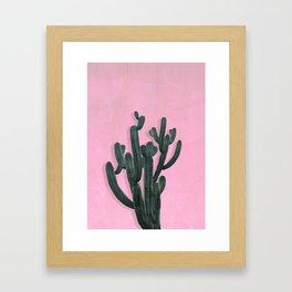 Kaktus No. 2 Framed Art Print
