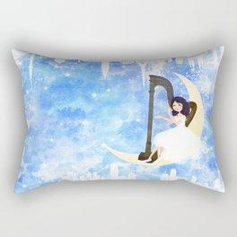 Harp girl 5: Connection Rectangular Pillow