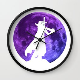 Anime Manga Mihawk Moon Inspired Shirt Wall Clock