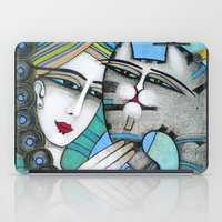 hug iPad Cases featuring HUG by ALBENA