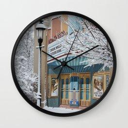 Theater Art Wall Clock
