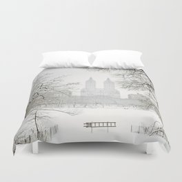 Winter - Central Park - New York City Duvet Cover