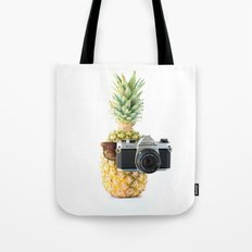 The Tourist Pineapple Tote Bag