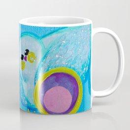 Birdy and the Dandies Mixed Media Painting Coffee Mug