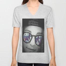 Sunglasses Unisex V-Neck
