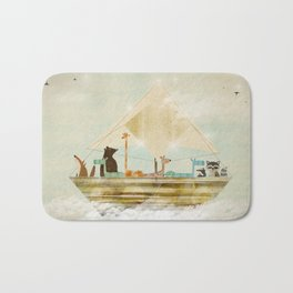 sky sailers Bath Mat