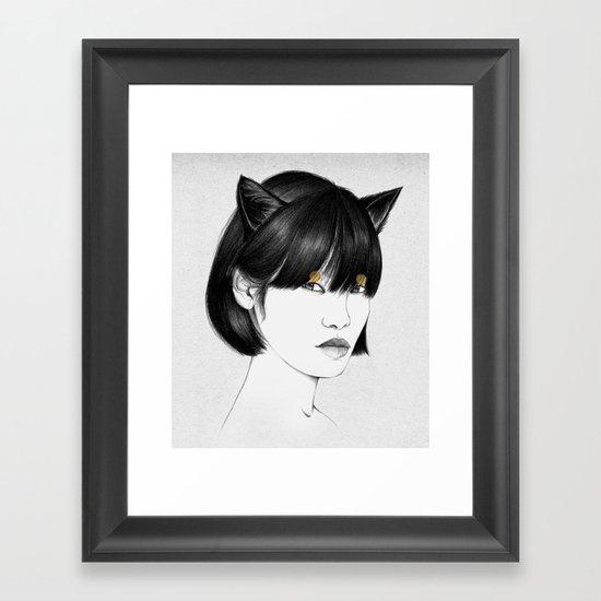 Cirque IV Framed Art Print