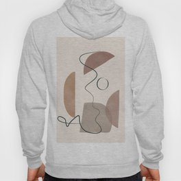 Minimal Abstract Shapes No.62 Hoody