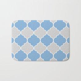 Moroccan Trellis in Gray Bath Mat