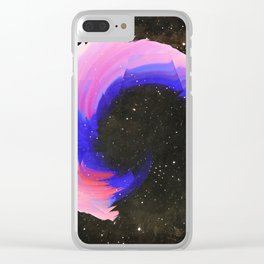 Twirl Clear iPhone Case