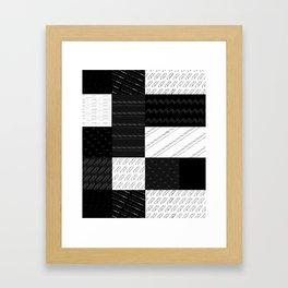 geometry 1 Framed Art Print
