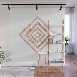 ART DECO SQUARES ROSE GOLD #minimal #art #design #kirovair #buyart #decor #home Wall Mural