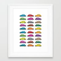 bugs Framed Art Prints featuring Bugs!! by Cloz000