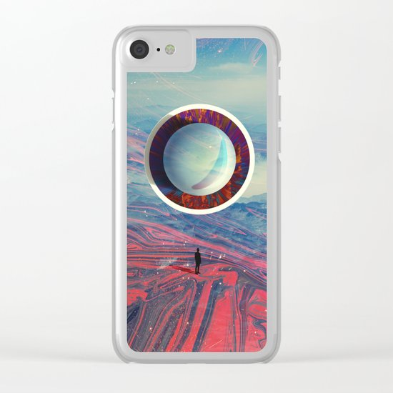 LOST AMONG THE MAGMA Clear iPhone Case