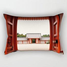 Beyond the Gates Rectangular Pillow