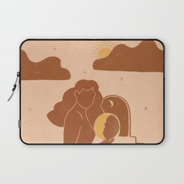 Holding The sun Laptop Sleeve
