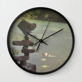 Swampy fever in Los Gatos Wall Clock
