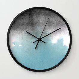 Merge Blue Wall Clock