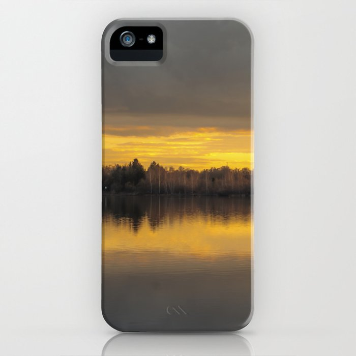 considerabit in lacum iPhone Case