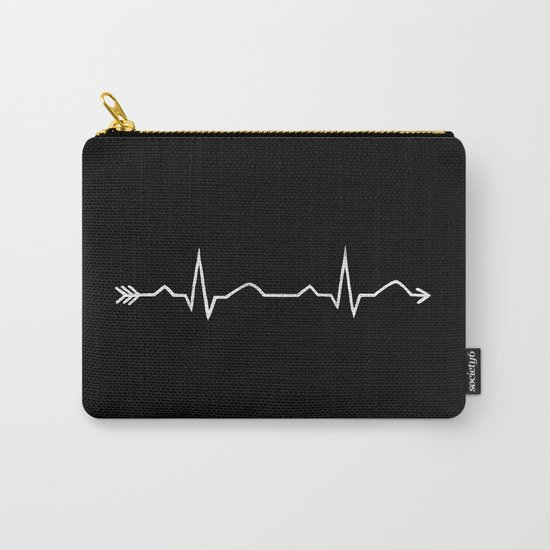 ecg arrow  Carry-All Pouch
