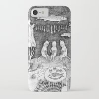 knitting iPhone & iPod Cases featuring Knitting Cats by Ulrika Kestere