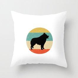 Schipperke Dog Gift design Throw Pillow