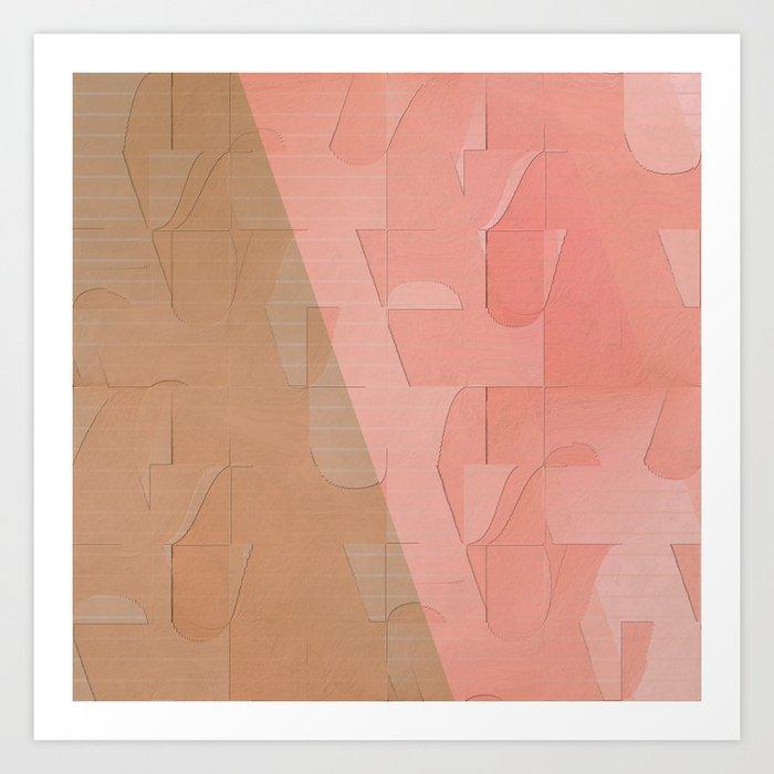 Pattern 2017 003 Art Print