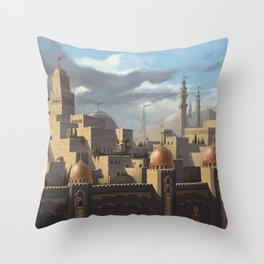 "Amin al Joddah ""The Jewel of the Desert"" Throw Pillow"