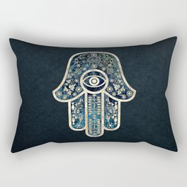 Hamsa 2 Rectangular Pillow