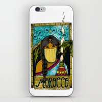 morocco iPhone & iPod Skins featuring Morocco by ZANA